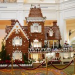 2016 Disney World Resort Gingerbread Displays