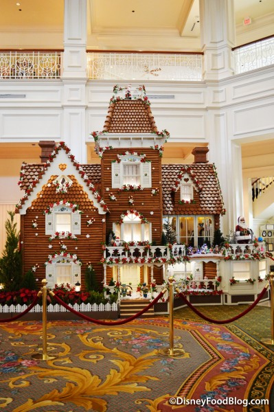 Grand Floridian's Gingerbread House