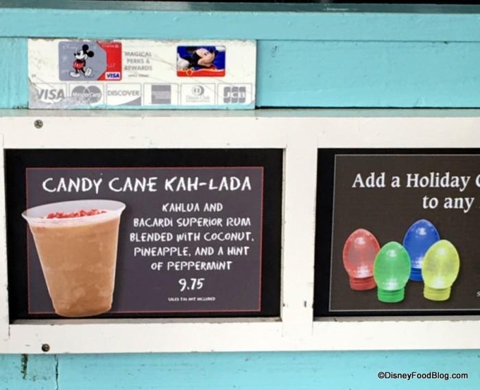 Candy Cane Kah-lada at Anaheim Produce