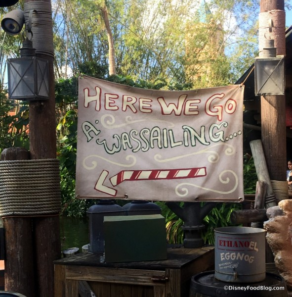 Jingle Cruise decor