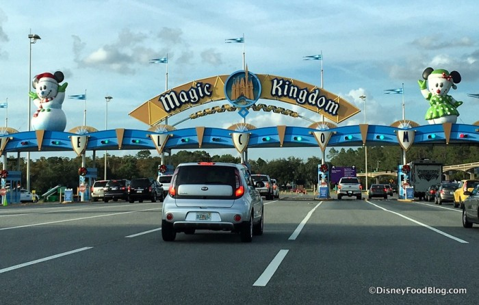 Magic Kingdom Entrance