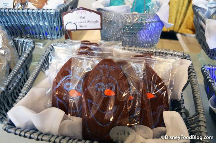 Olaf Gingerbread Shingle