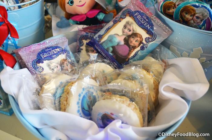 Shortbread Cookies and Krispy Treats