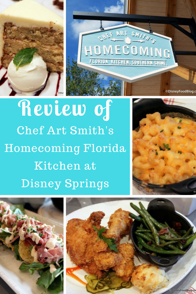 The DisneyFoodBlog goes BACK to Chef Art Smith's Homecoming Florida Kitchen at Disney Springs - read the review!