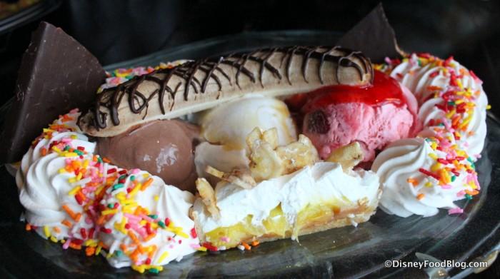 Banana Cream Pie Sundae
