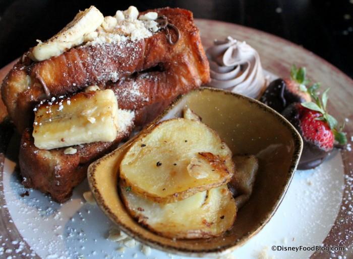 Banana and Nutella French Toast