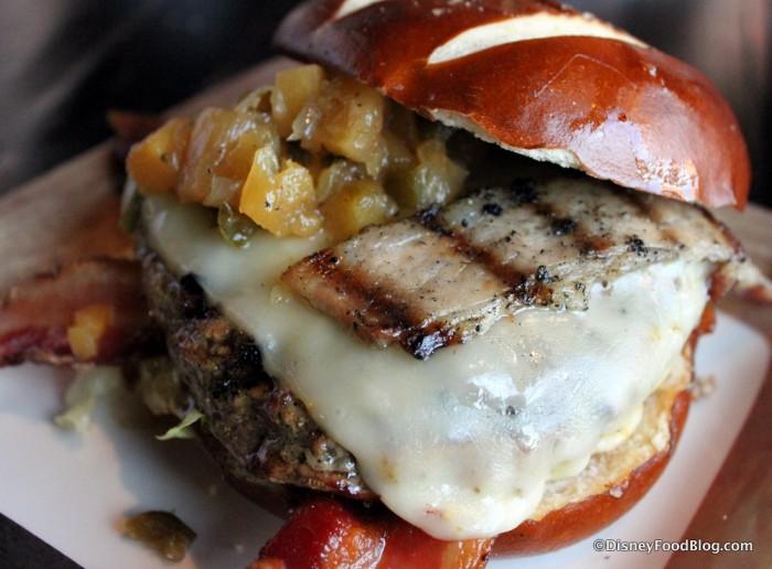 May Contain Bacon Burger