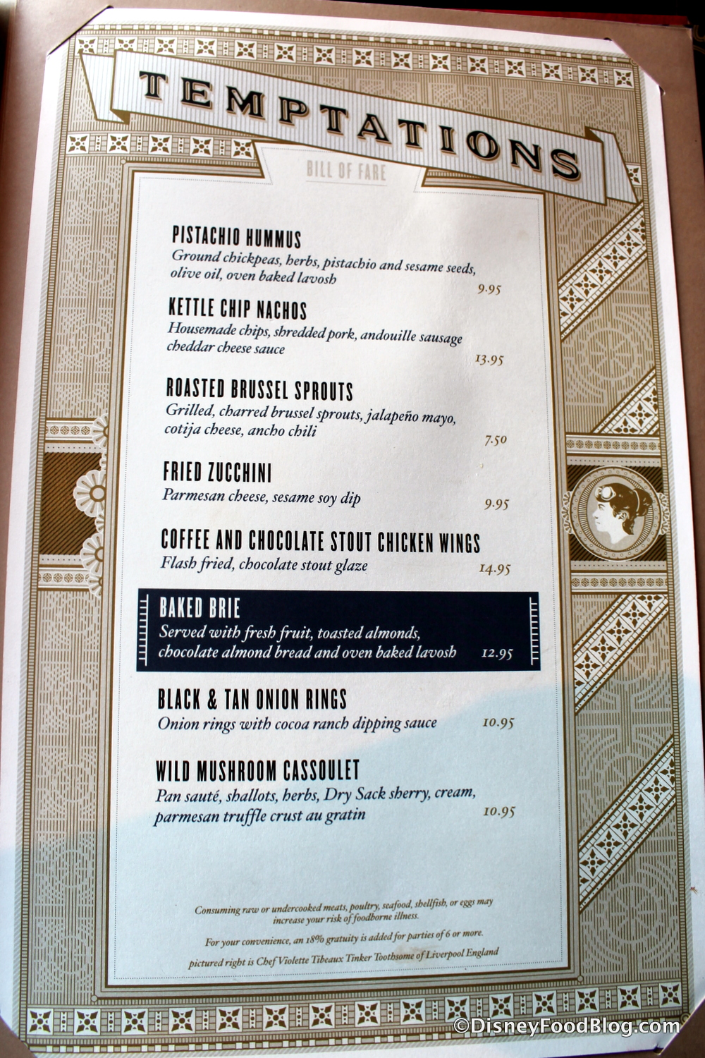 Menu For The Toothsome Chocolate Emporium Savory Feast Kitchen