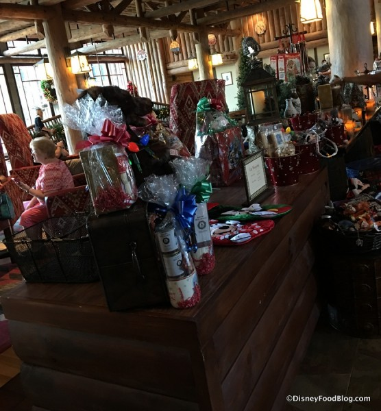 Holiday Treats at Wilderness Lodge