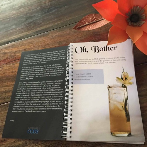 Fairy Tale Cocktails recipe book!
