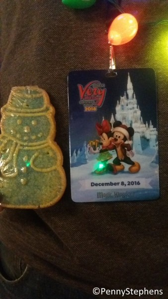 """Secret"" snowman cookie at MVMCP!"