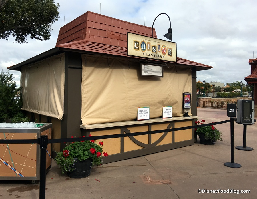 news 2018 epcot festival of the arts booth menus the. Black Bedroom Furniture Sets. Home Design Ideas
