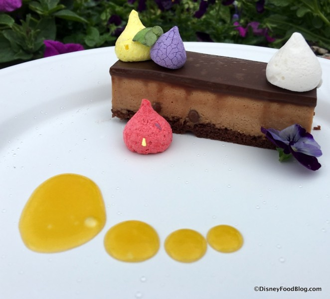 Crisp Caramel Chocolate Mousse Bar