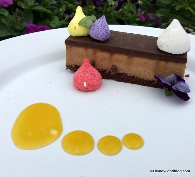 Crisp Caramel Chocolate Mousse Bar