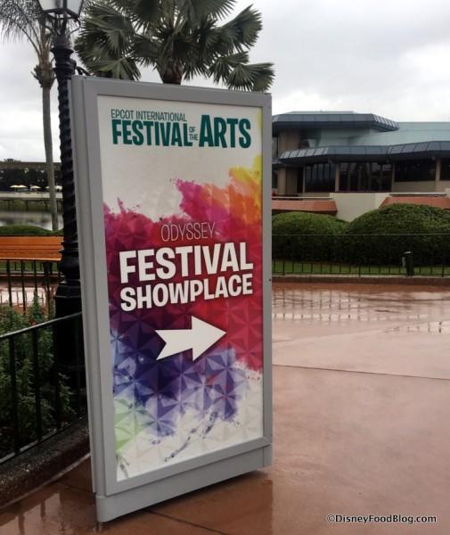 Odyssey Festival Showplace