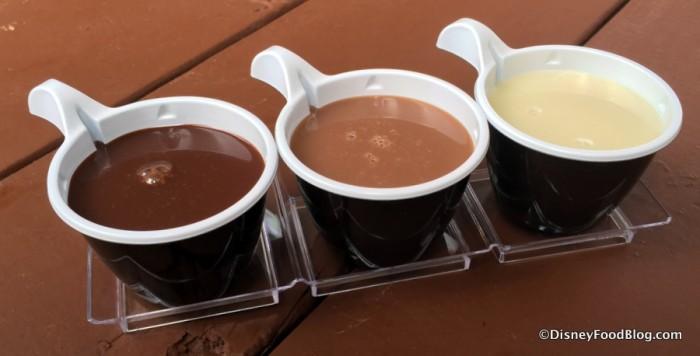 Callebaut Belgian Sipping Chocolate Flight