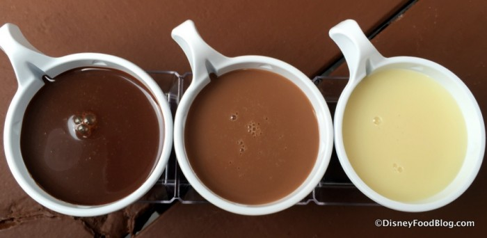 Callebaut Belgian Sipping Chocolate Flight