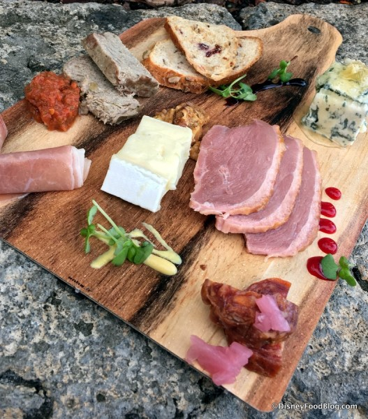 Charcuterie Palette at The Masterpiece Kitchen Food Studio