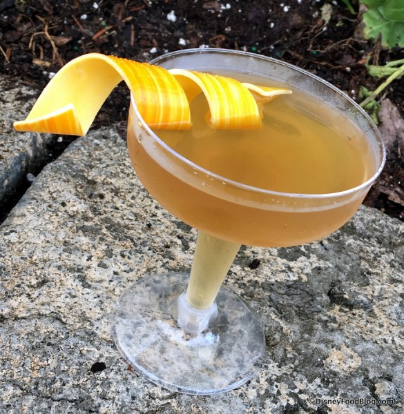 Classic Sidecar with a Chocolate Twist