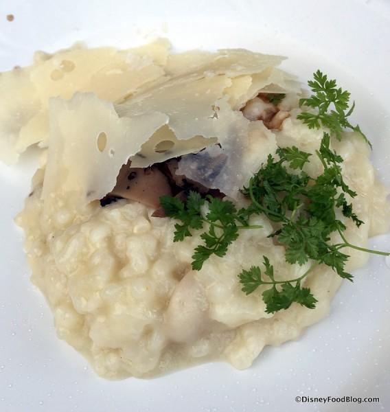 2017 Epcot International Festival of the Arts The Masterpiece Kitchen Food Studio Wild Mushroom Risotto 3