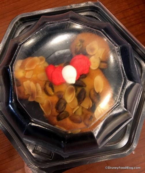 Almond Cherry Minnie Cake
