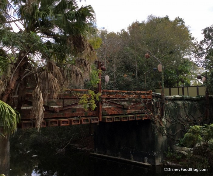Entry Bridge into Pandora
