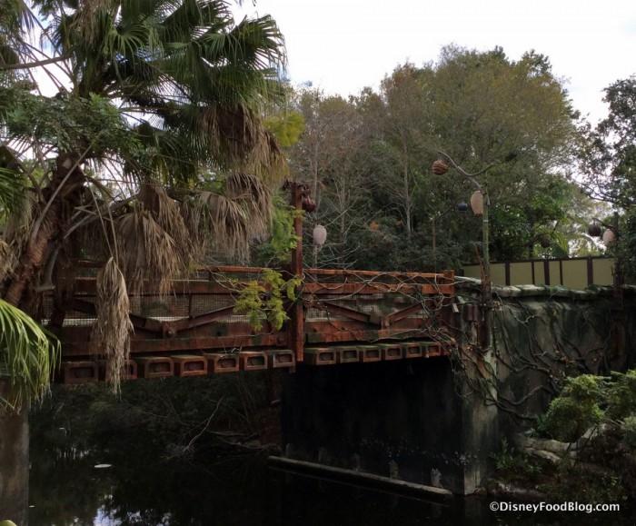 Entry Bridge into Pandora