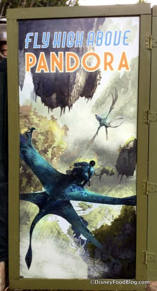 Animal Kingdom Pandora construction signs January 2017 4