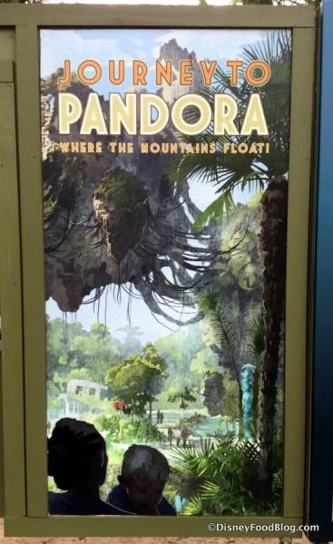 Pandora Construction sign