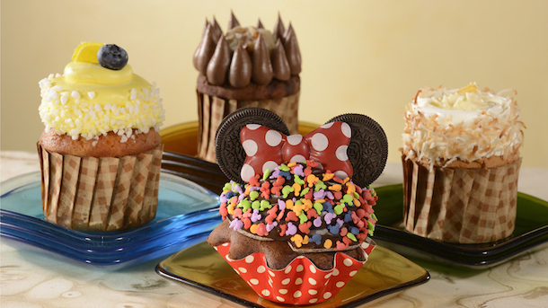 Dessert Selections ©Disney