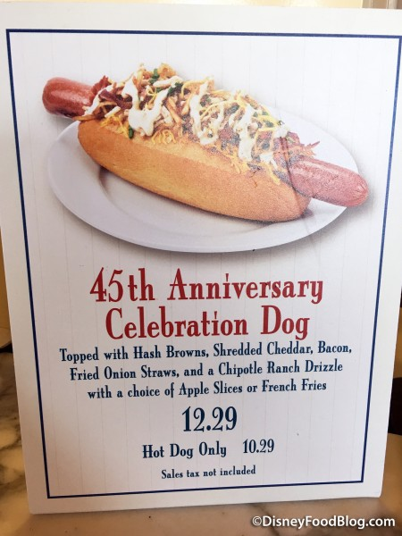Casey's Corner 45th Anniversary Celebration  Dog Signage