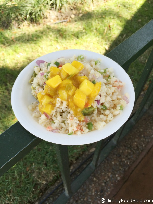 Caribbean Conch Salad with Avocado, Mango and Onions