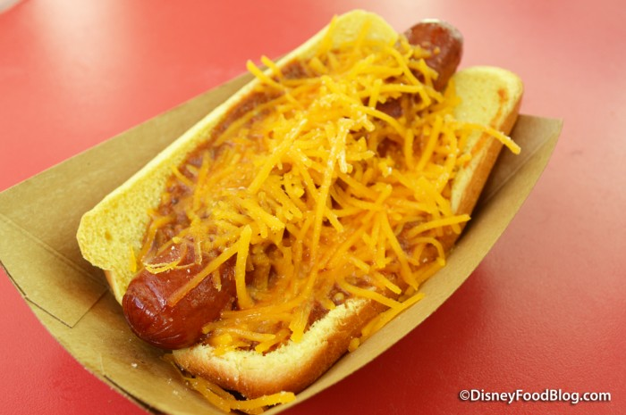 Chili Cheese Hot Dog