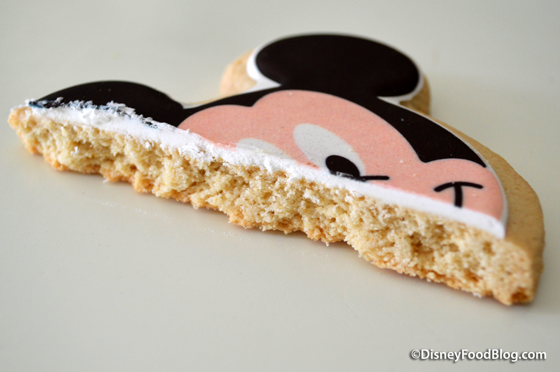 Classics Mickey Shortbread Cross-Section
