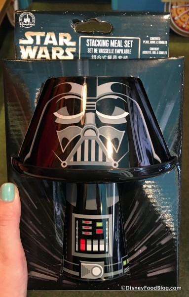Darth Vader Stacking Meal Set