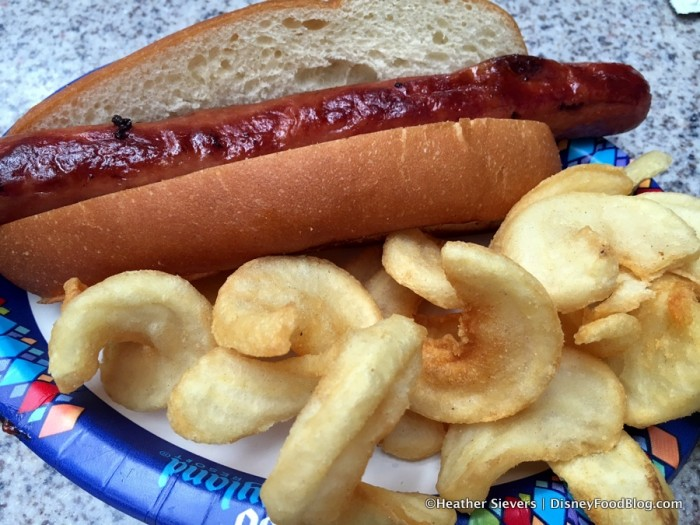 All-Beef Hot Dog with Filmstrip Fries