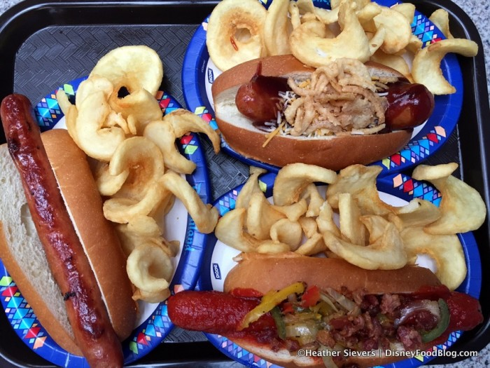 Hot Dogs and Sausage at Award Wieners