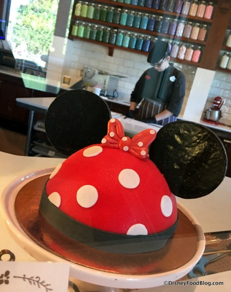 Minnie Dome Cake from Amorette's Patisserie