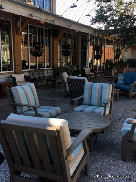 Additional Outdoor Seating