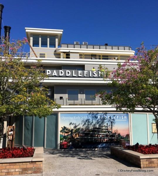 Paddlefish... Opening Soon!