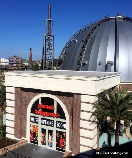 Planet Hollywood Observatory