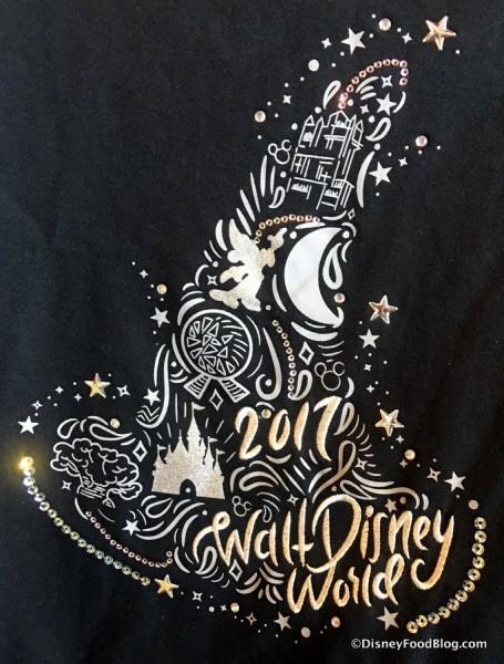 2017 Disney World t-shirt design