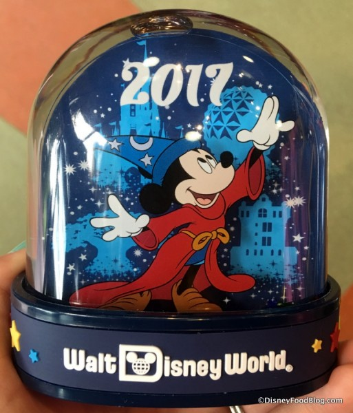 2017 Disney World Snow Globe