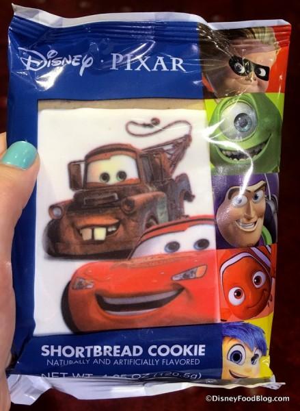 Cars Shortbread Cookie