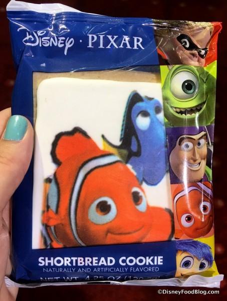 Nemo and Dory Shortbread Cookie