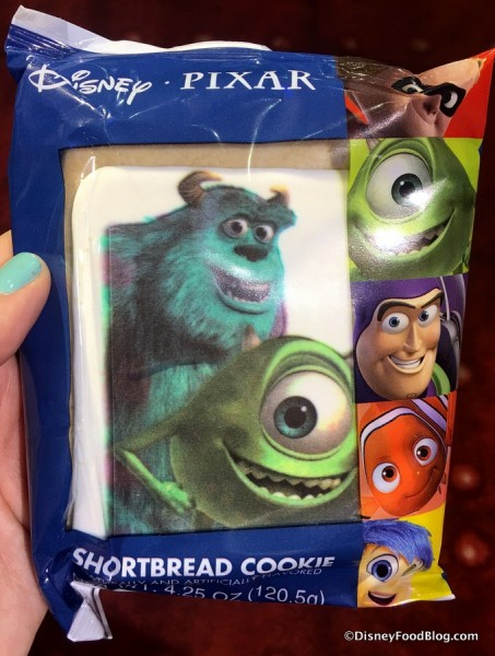 Monsters University Shortbread Cookie