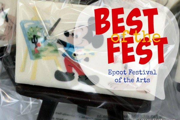 Best of the Fest: What to Eat at the Epcot International Festival of the Arts!