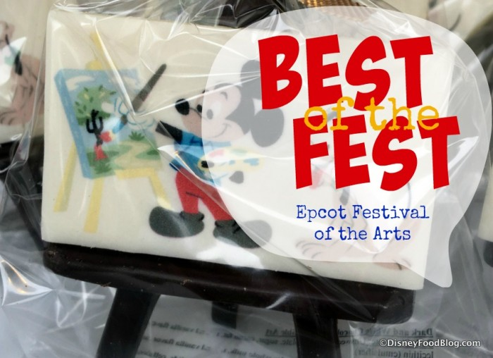 Epcot Festival of the Arts Best of the Fest DFB