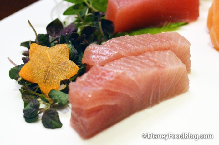 Fresh Sashimi Sampler