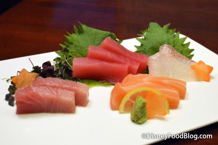 Fresh Sashimi Sampler